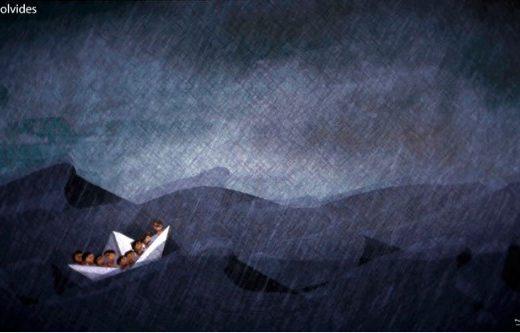barca refugiados